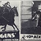 Ruth Hall, Tom Mix, and Tony Jr. the Horse in Flaming Guns (1932)