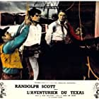 Randolph Scott and L.Q. Jones in Buchanan Rides Alone (1958)
