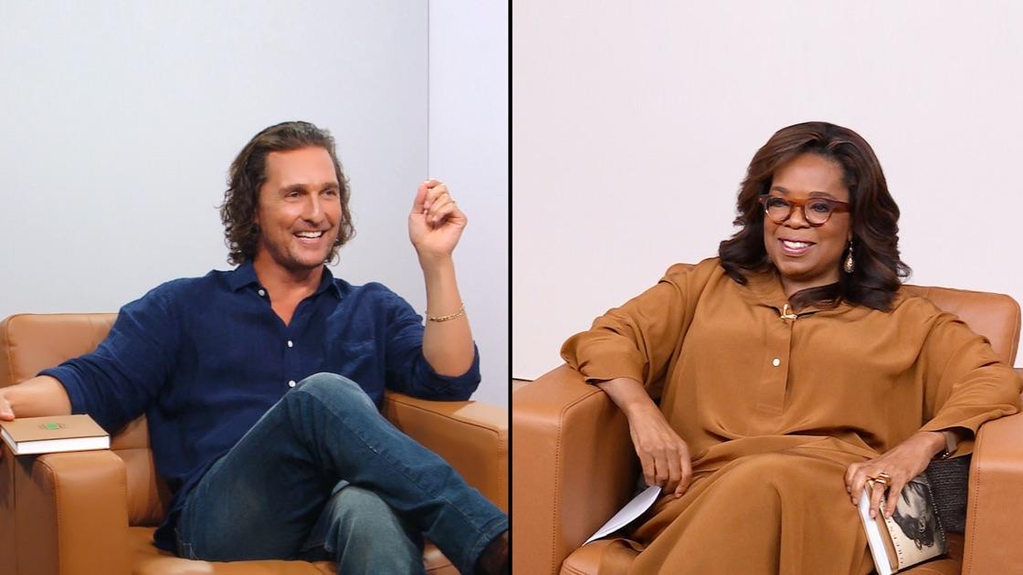 Matthew McConaughey and Oprah Winfrey in The Oprah Conversation (2020)