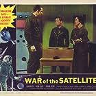 Susan Cabot, Richard Devon, and Dick Miller in War of the Satellites (1958)