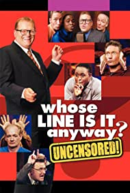 Drew Carey, Wayne Brady, Colin Mochrie, Greg Proops, and Ryan Stiles in Whose Line Is It Anyway? (1998)