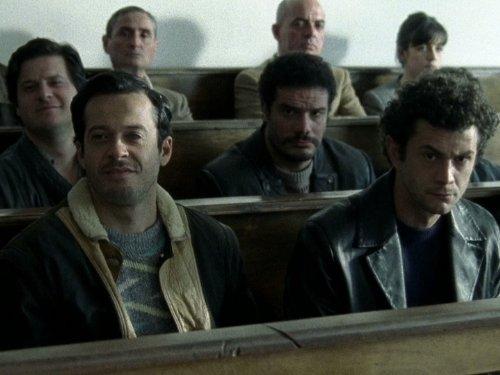 Mauro Meconi, Lorenzo Renzi, Edoardo Pesce, and Vinicio Marchioni in Romanzo criminale - La serie (2008)