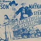 Linda Brent, Hoot Gibson, Ken Maynard, and Bob Steele in Death Valley Rangers (1943)