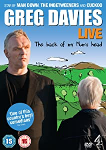 Rent movie Greg Davies Live: The Back of My Mum's Head UK [4K