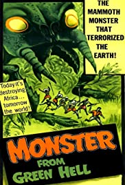 Monster from Green Hell (1957) Poster - Movie Forum, Cast, Reviews