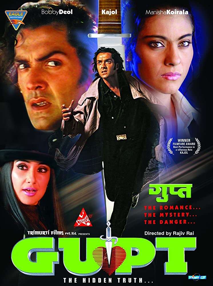 Gupt The Hidden Truth 1997 Hindi 720p BluRay ESub 1.1GB Download