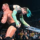 Jeff Hardy and Brock Lesnar in WWF Backlash (2002)