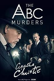 John Malkovich, Tara Fitzgerald, Rupert Grint, Shirley Henderson, Eamon Farren, Andrew Buchan, and Freya Mavor in The ABC Murders (2018)