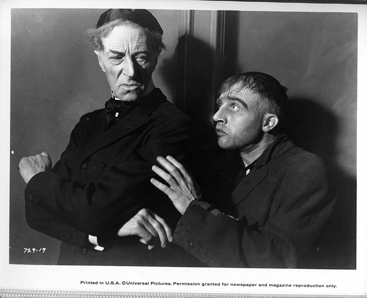 Dwight Frye and Ernest Thesiger in Bride of Frankenstein (1935)