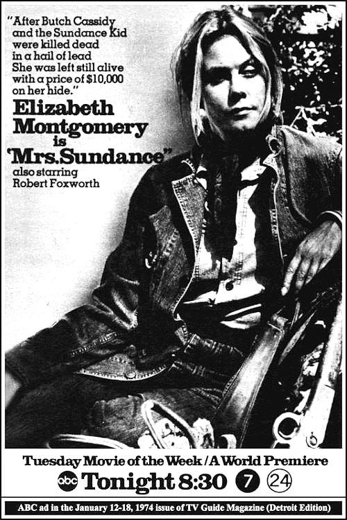 Mrs Sundance Tv Movie 1974 Imdb