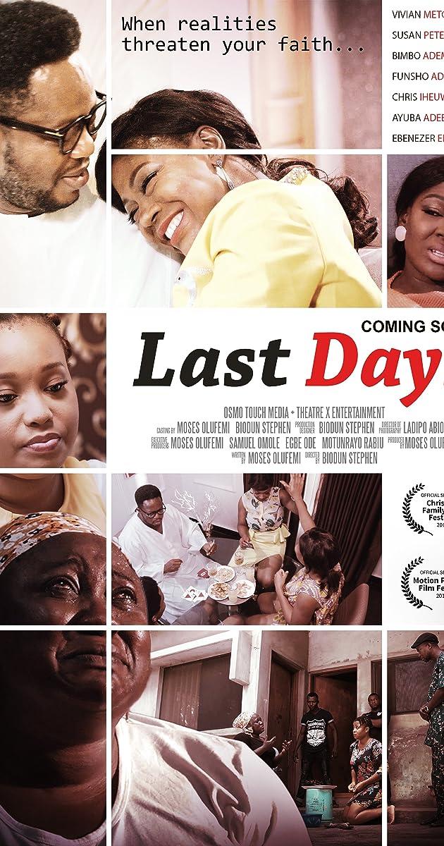 Last Days (2019) - IMDb