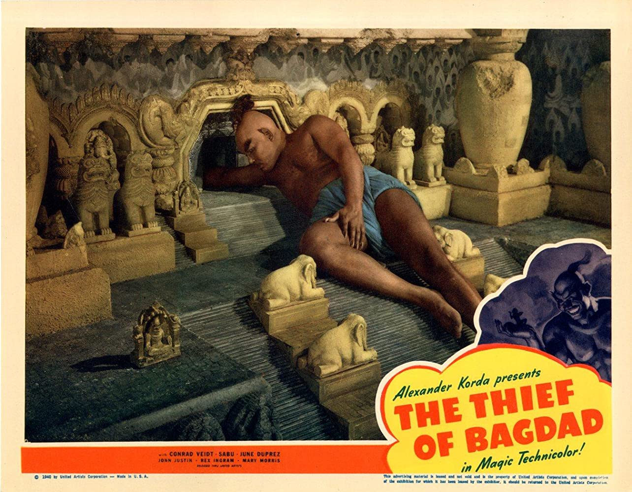 Rex Ingram in The Thief of Bagdad (1940)
