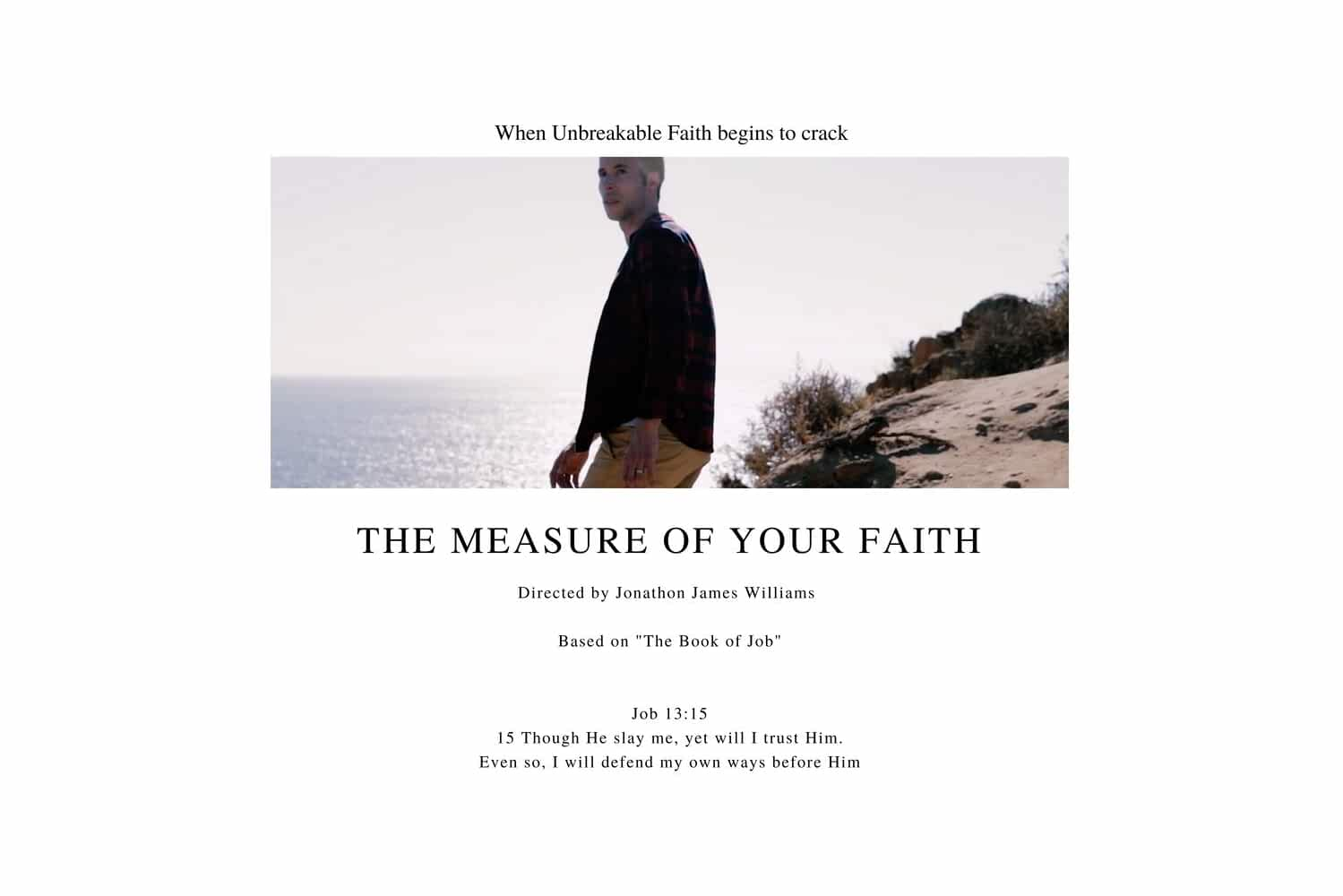 The Measure of Your Faith (2018)