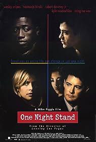 Nastassja Kinski, Robert Downey Jr., Wesley Snipes, Kyle MacLachlan, and Ming-Na Wen in One Night Stand (1997)