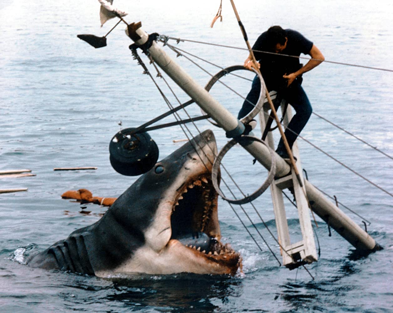Roy Scheider in Jaws 1975