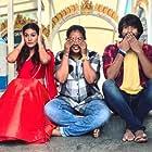 Amyra Dastur, Raj Tarun, and Sanjana Reddy in Raju Gadu (2018)