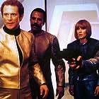 Fred Williamson, Al Cliver, and Jared Martin in I guerrieri dell'anno 2072 (1984)