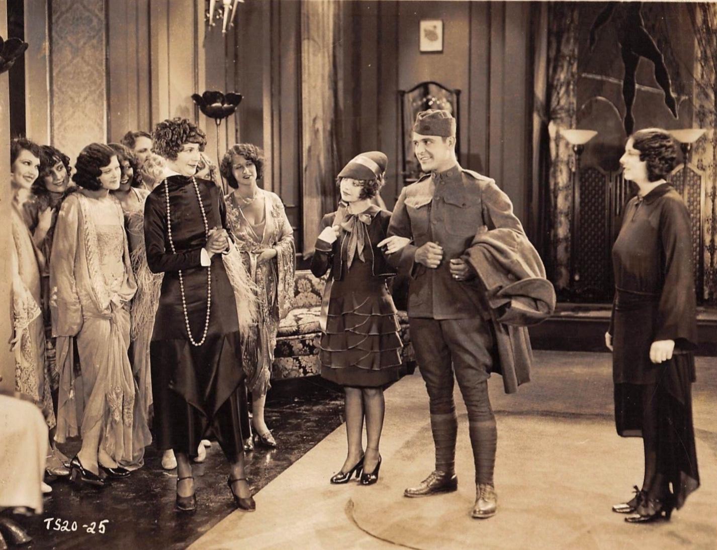 Malcolm McGregor and Alice White in Lingerie (1928)