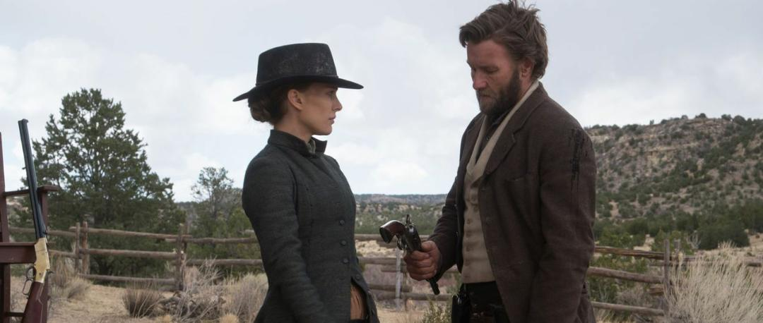 Natalie Portman and Joel Edgerton in Jane Got a Gun (2015)