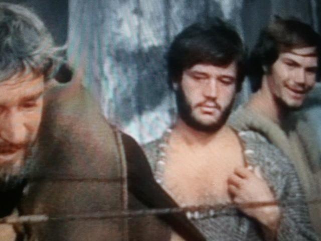 Igor Sunara and Bekim Fehmiu in Odissea (1968)
