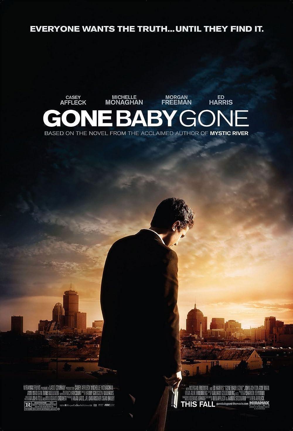 Gone Baby Gone 2007 Hindi ORG Dual Audio 480p NF HDRip MSub 400MB x264 AAC