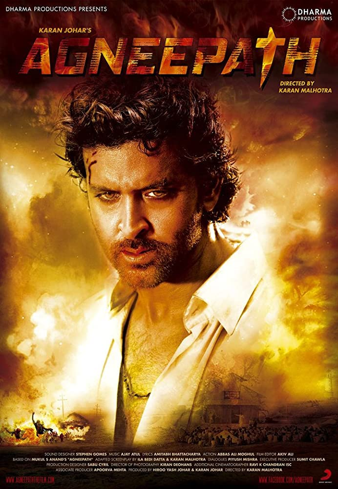 Agneepath 2012 Hindi BluRay