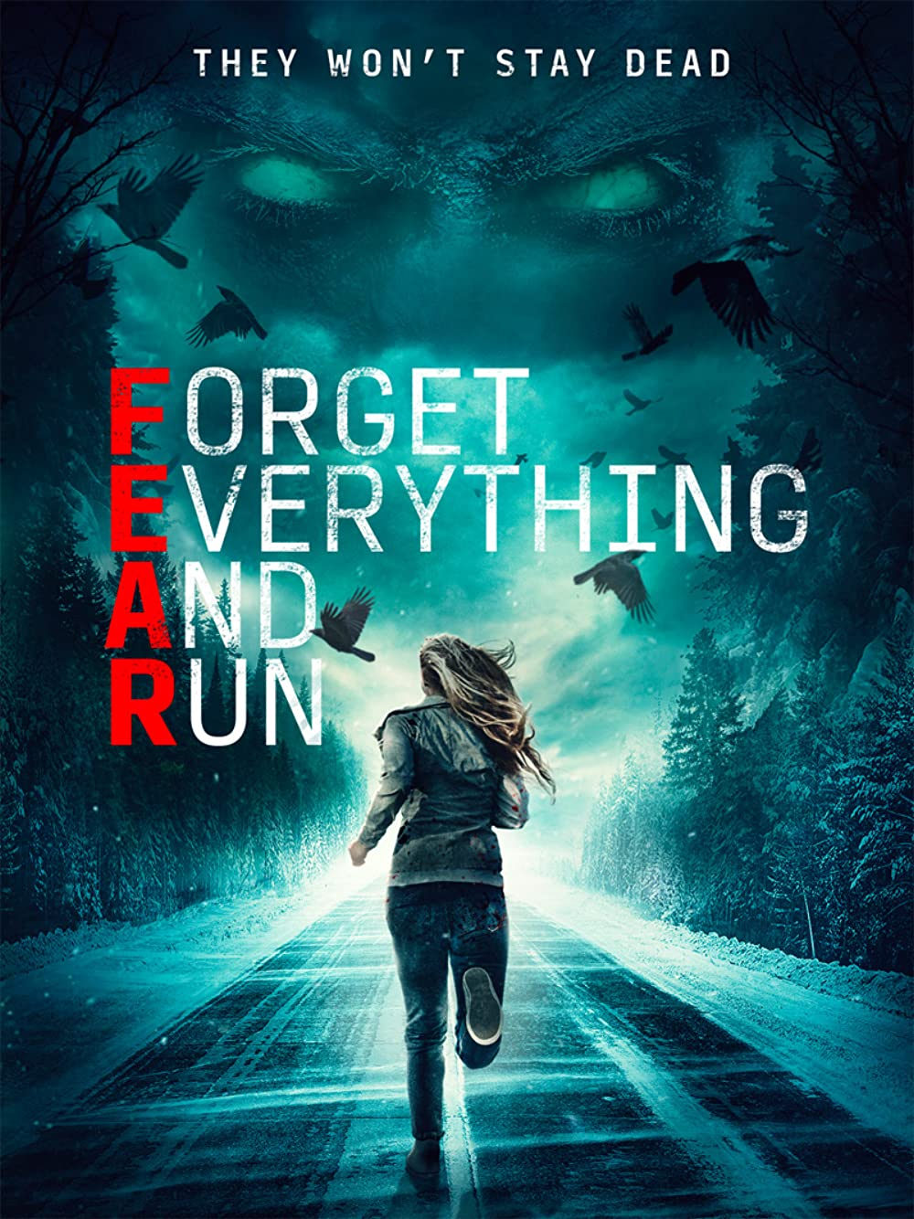 Forget Everything And Run 2021 English 300MB HDRip Download