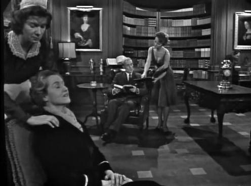 Mary Gregory, John Hoyt, Inger Stevens, and Irene Tedrow in The Twilight Zone (1959)
