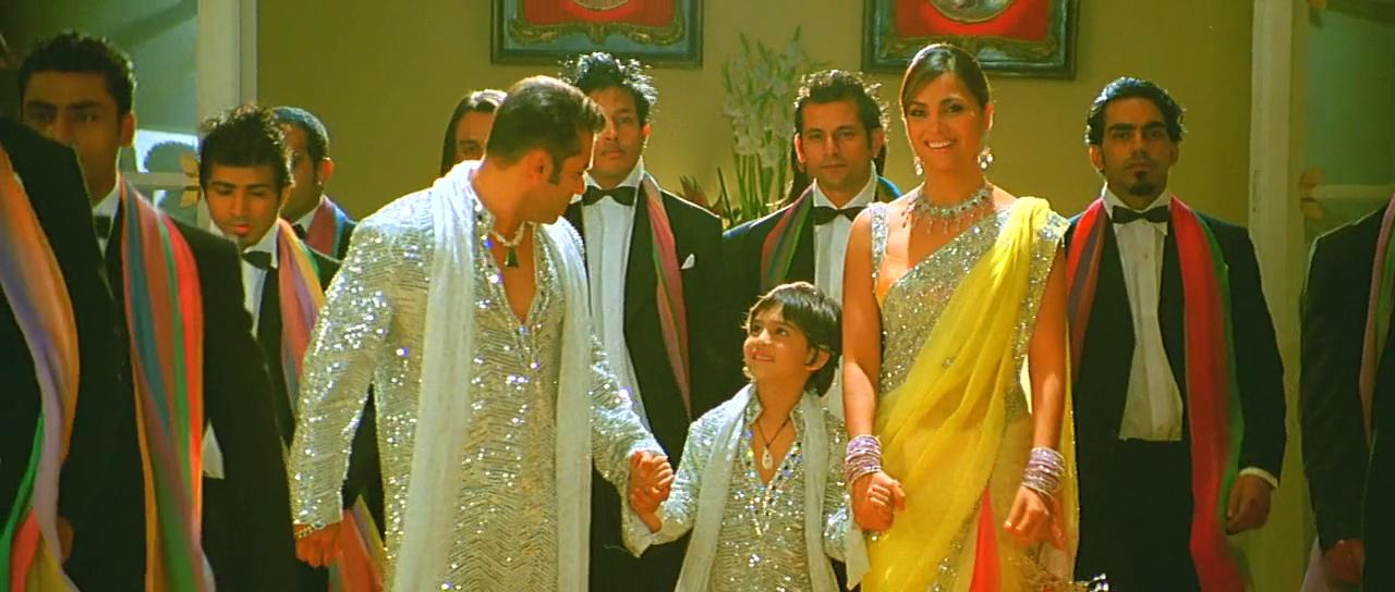 Salman Khan and Lara Dutta in Partner (2007)