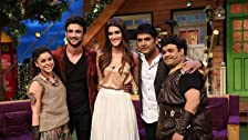 Sushant and Kriti in Kapil's Show