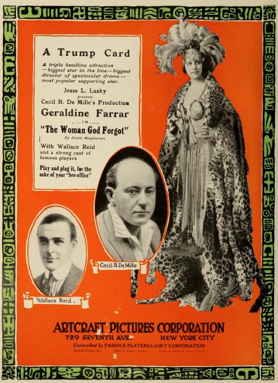 The Woman God Forgot (1917)