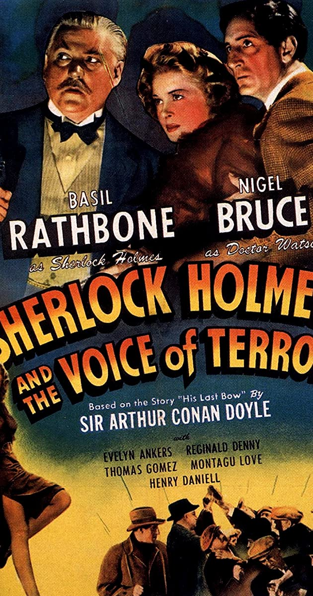 Sherlock Holmes And The Voice Of Terror 1942 Sherlock Holmes And
