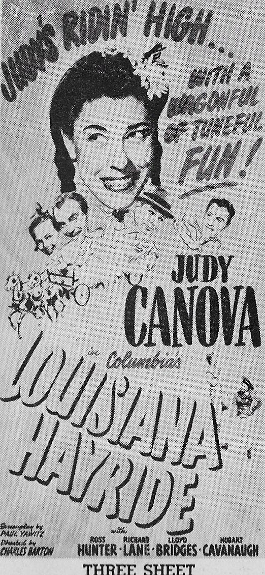 Judy Canova, Ross Hunter, Richard Lane, Matt Willis, and Betty Jane Graham in Louisiana Hayride (1944)