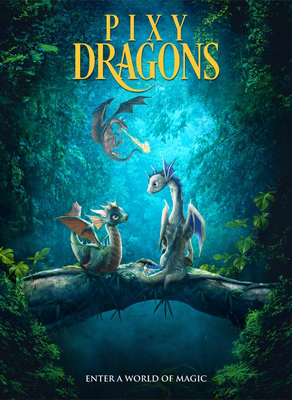 Mažieji drakonai (2019) / Pixy Dragons