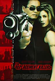 Mira Sorvino and Chow Yun-Fat in The Replacement Killers (1998)