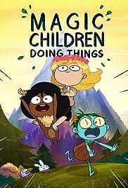 Magic Children Doing Things Poster