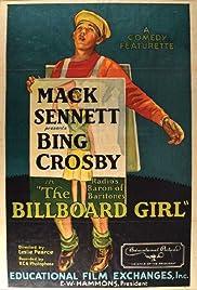Billboard Girl Poster