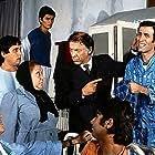 Halit Akçatepe, Adile Nasit, Münir Özkul, and Kemal Sunal in Hababam Sinifi Sinifta Kaldi (1976)