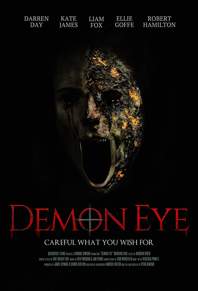 Demon Eye (2019) Unofficial Hindi Dubbed 720p HDRip Esubs DL