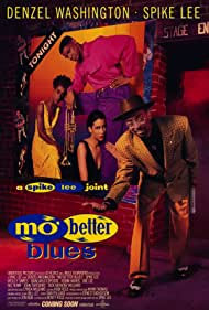 Denzel Washington, Spike Lee, Joie Lee, and Cynda Williams in Mo' Better Blues (1990)