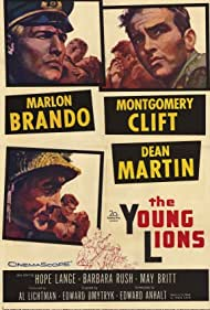 Marlon Brando, Montgomery Clift, and Dean Martin in The Young Lions (1958)