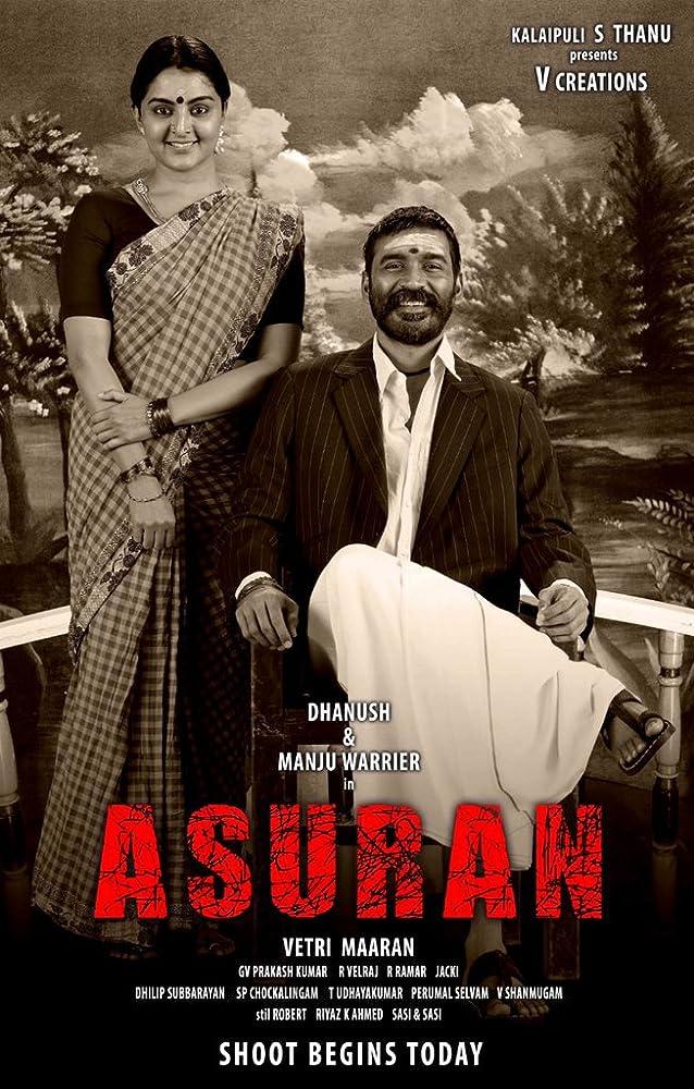Asuran 2019 Tamil Full Movie 400MB pDVDRip Download