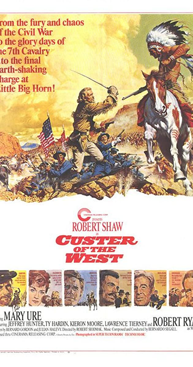 Subtitle of Custer of the West