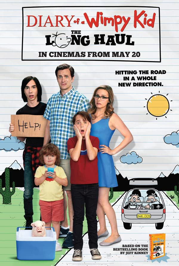 Diary of a Wimpy Kid: The Long Haul (2017) Hindi Dubbed