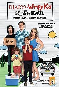 Alicia Silverstone, Tom Everett Scott, Charlie Wright, Jason Drucker, Dylan Walters, and Wyatt Walters in Diary of a Wimpy Kid: The Long Haul (2017)