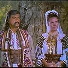 Margit Bara and Sándor Deák in Szegény gazdagok (1959)