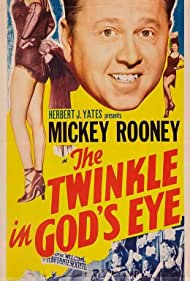 Mickey Rooney, Don 'Red' Barry, Coleen Gray, and Hugh O'Brian in The Twinkle in God's Eye (1955)
