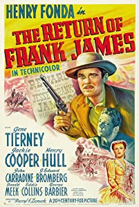 The Return of Frank James Fritz Lang