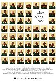White Black Boy Poster
