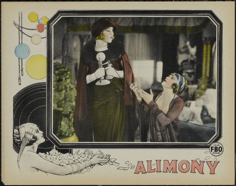Josephine Whittell and Lois Wilson in Alimony (1917)